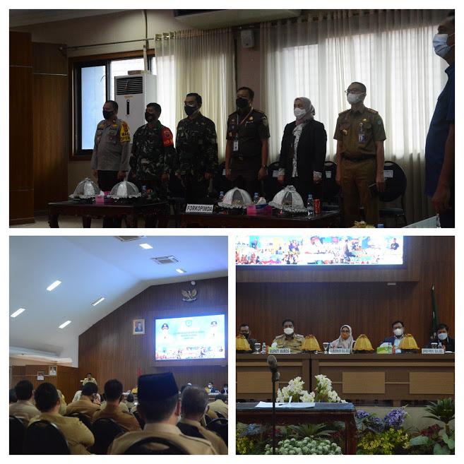 Kegiatan Ketua PN Maros Menghadiri acara Musrenbang RKPD Pemda Maros Tahun 2021