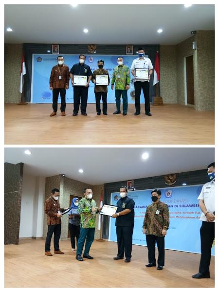 Rapat Koordinasi Pelaksanaan Anggaran (Rakorda PA) Semester II Tahun 2020 tingkat Kanwil DJPb Provinsi Sulawesi Selatan.